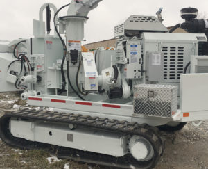 engine driven application for chipper