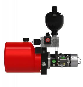 hydraulic power unit side