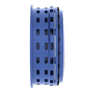 Low inertia spring set air release brakes