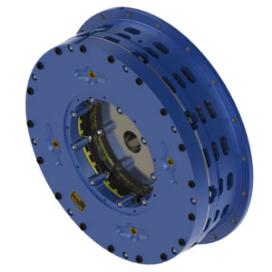 Air applied brake