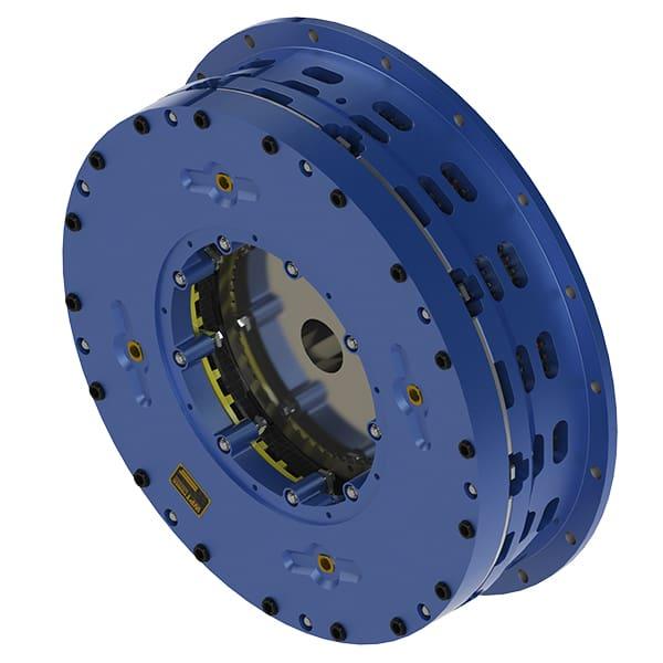 Air applied brake