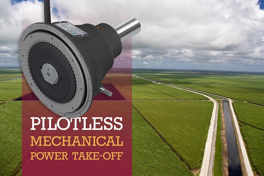 Pilotless™ PTO on sugarcane fields