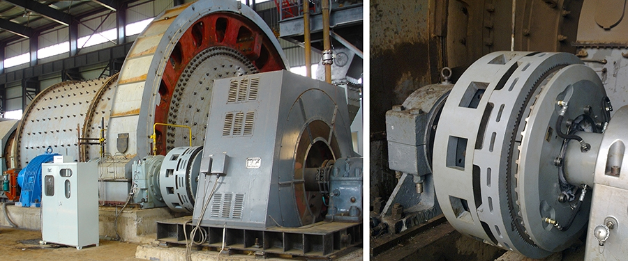 Grinding Mill Brakes and Clutches