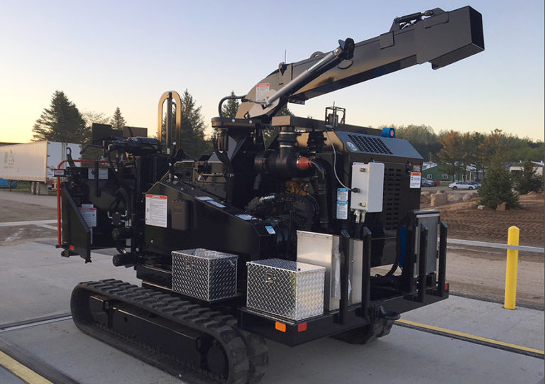 Mechanical Power Take-off on chipper