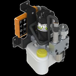 Hydraulic clutch control