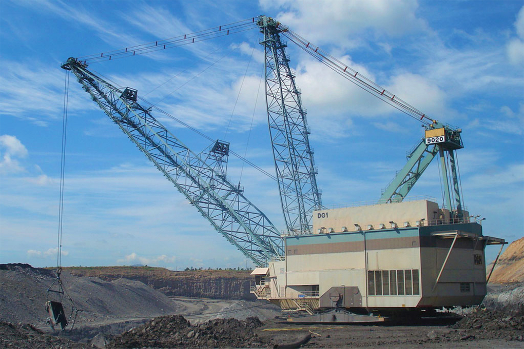 Dragline brakes and clutches