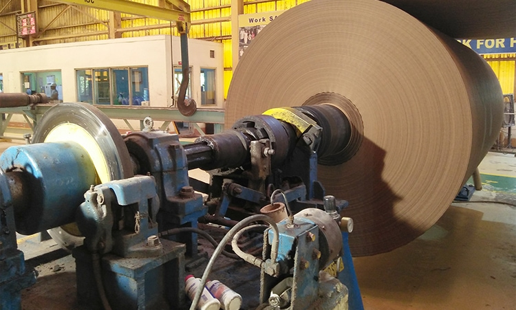 Copper Water Cooled Brake on paper mill winder