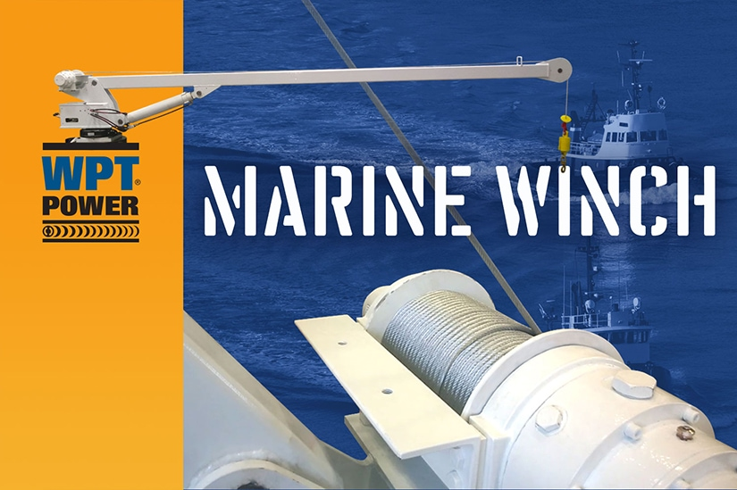 marine industry winch