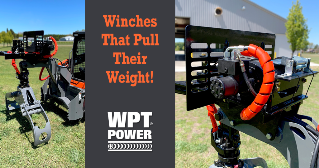 grappling winch